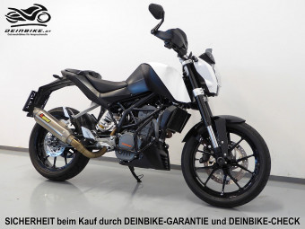 KTM 125 Duke ABS bei deinbike.at in