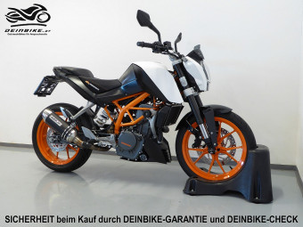 KTM 390 Duke ABS bei deinbike.at in