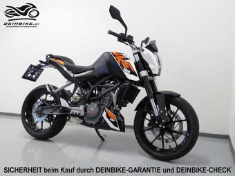 KTM 125 Duke ABS bei deinbike.at in