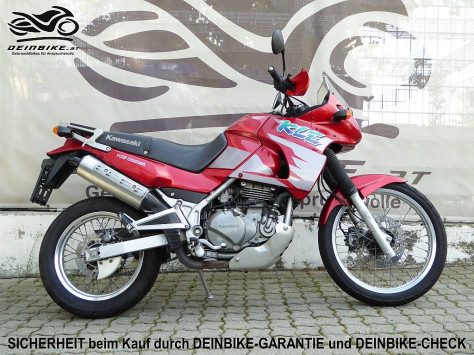Kawasaki KLE 500 bei deinbike.at in