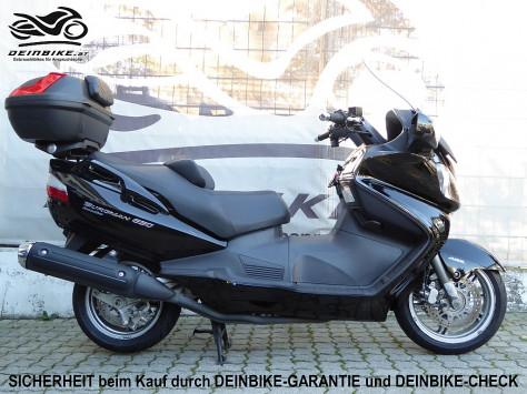 Suzuki Burgman 650 Executive ABS bei deinbike.at in
