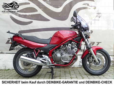 Yamaha XJ 600 N bei deinbike.at in