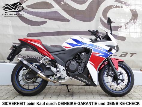 Honda CBR 500 R ABS bei deinbike.at in